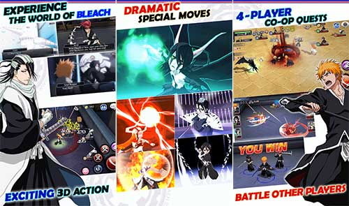 BLEACH Brave Souls God Mode One hit kill Android Apk Mod Revdl