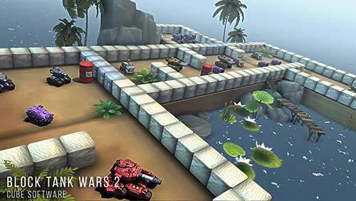 Block Tank Wars 2 Apk