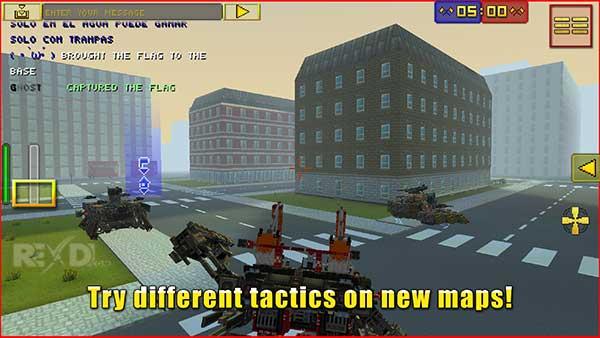 Blocky Cars Online Apk