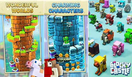 Blocky Castle Apk
