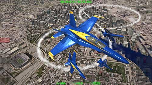 Blue Angels – Aerobatic SIM Apk
