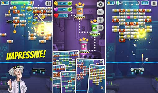Brick Breaker Lab Apk