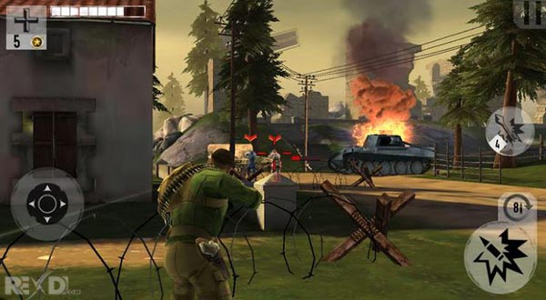 Brothers in Arms 3 1 4 9a Apk + MOD (VIP) + Data for Android