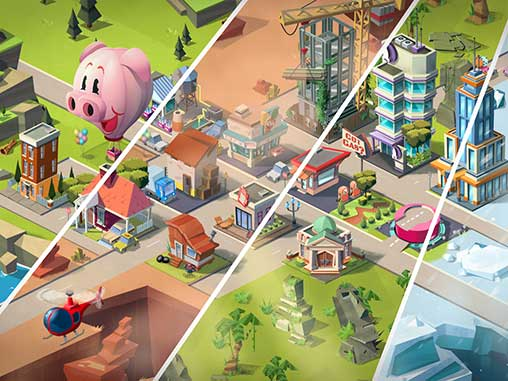 Build Away! - Idle City Game Apk