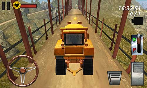 Bulldozer Drive 3D Hill Mania Apk