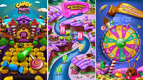 Candy Party Coin Carnival Apk