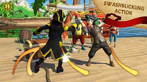 Captain Sabertooth Lama Rama Apk