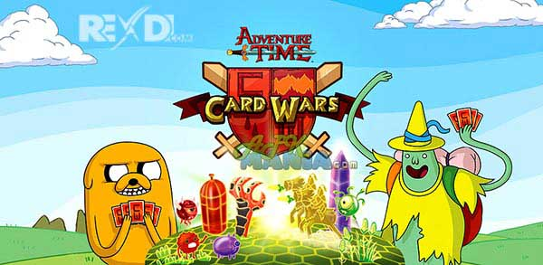 Card Wars – Adventure Time APK + MOD + DATA for Android