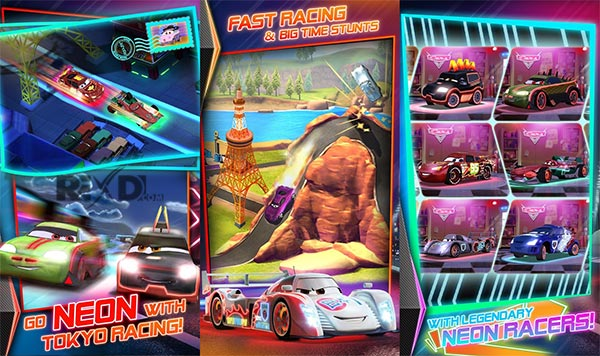 Cars Fast as Lightning Apk