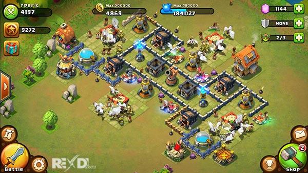 castle clash apk unlimited gems