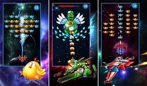 Chicken Shooter: Space Shooting Apk
