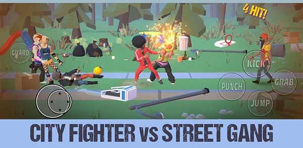 City Fighter vs Street Gang Mod