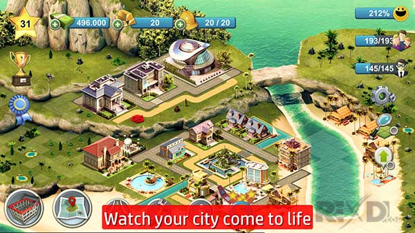 City Island 4 Sim Town Tycoon Apk