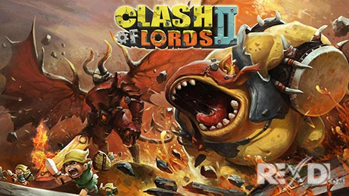 Clash of Lords 2 Apk Data + DATA for Android