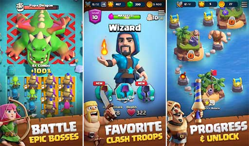 Clash Quest MOD APK 0.72.75 (Unlimited Money) Android