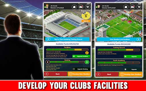 Club Soccer Director 2018 Apk
