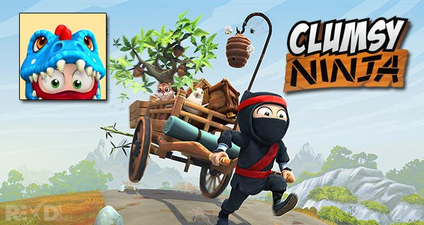 Clumsy Ninja 1.26.0 Apk + Mod + Data for Android