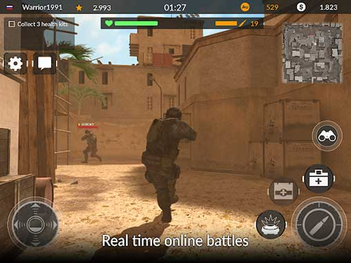 Code of War: Shooter Online Apk