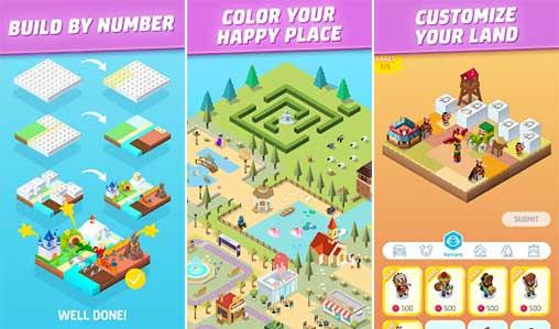 Color Land - Build by Number Apk