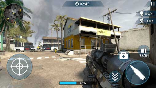 Counter Fort Invader: CS Shooting Apk