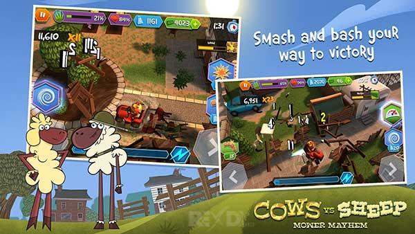 Cows Vs Sheep Mower Mayhem Apk
