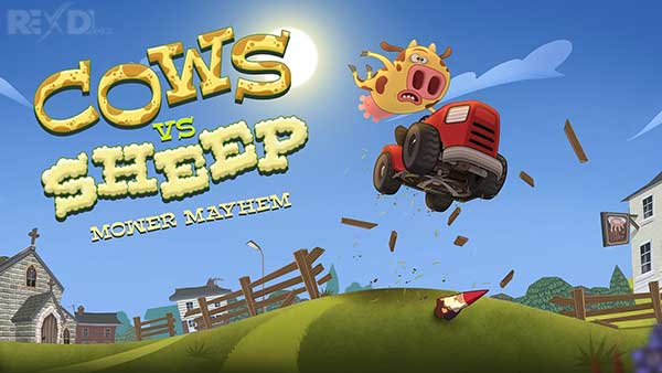 Cows Vs Sheep Mower Mayhem Mod