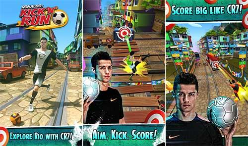 Cristiano Ronaldo Kick'n'Run Apk