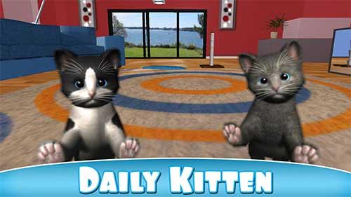 Daily Kitten virtual cat pet Apk