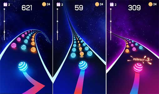 Dancing Road: Color Ball Run Apk