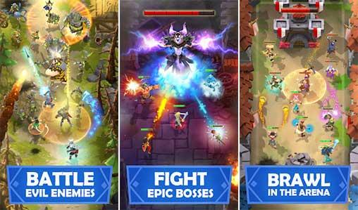 Darkfire Heroes Apk