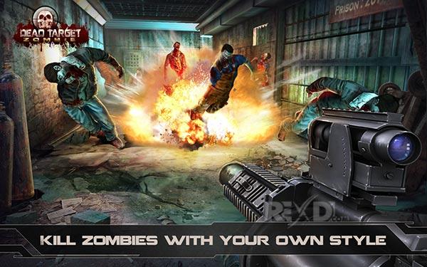 DEAD TARGET Zombie New