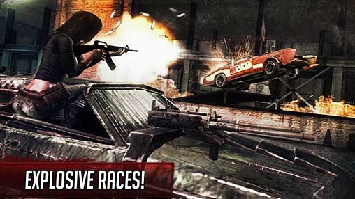 Death Race - Shooting Cars Apk