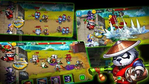 Defender Heroes: Castle Defense TD Apk
