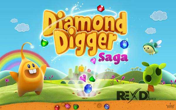 Diamond Digger Saga Apk Mod