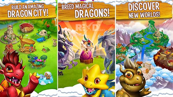 Dragon City Mod Apk 11 5 3 Unlimited Money For Android