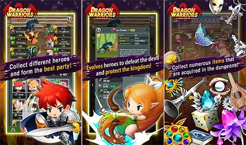 Dragon Warriors Idle RPG Apk