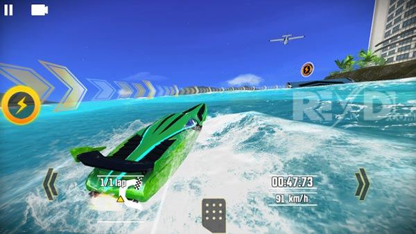 Driver Speed boat Paradise Apk