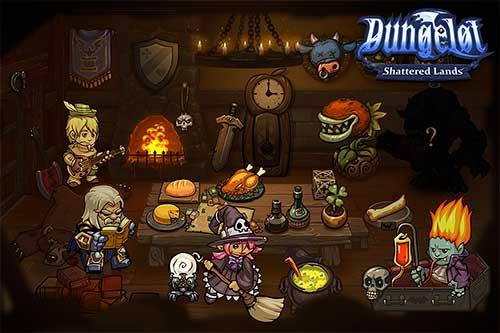 Dungelot Shattered Lands Apk