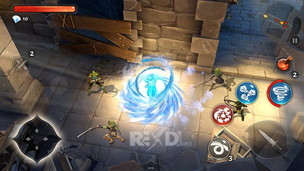 dungeon hunter 3 mod apk rexdl