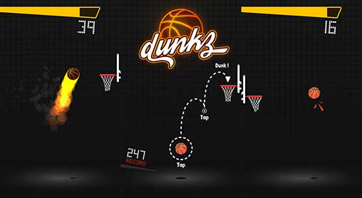 Dunkz - Shoot hoops & slam dunk Apk