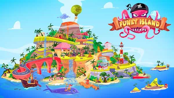 Escape Funky Island Mod