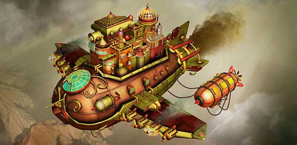 Escape Machine City: Airborne Cover
