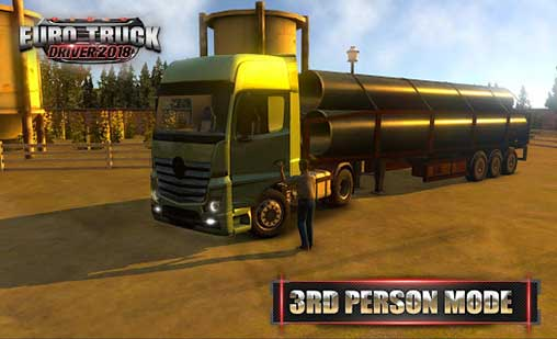 Euro Truck Driver 2018 1.4.0 Apk + Mod Money + Data for Android.
