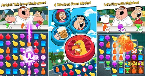 Family Guy Freakin Mobile Game Apk
