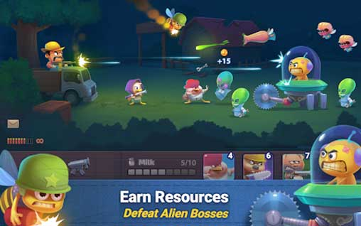 Farm Guns: Alien Clash 2018 Apk