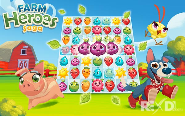 Farm Heroes Saga APK + MOD Unlimited Lives for Android