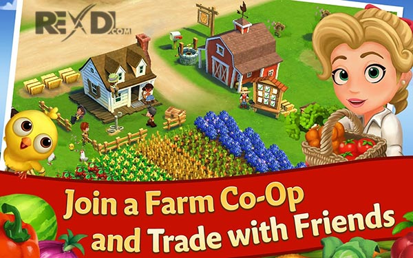 FarmVille 2: Country Escape 12 9 4385 Apk + MOD (Keys/Gems) Android