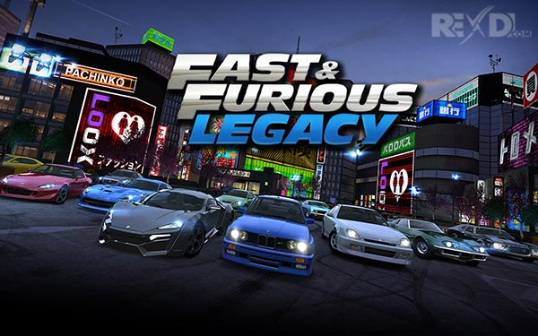 Fast & Furious: Legacy APK + DATA Download for Android