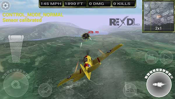 FighterWing 2 Flight Simulator Apk