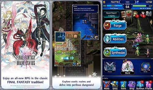 Final Fantasy Brave Exvius Apk